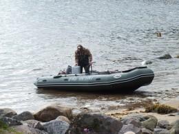 Лодка предоставленная турфирмой
