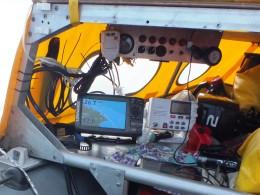 Lowrance Elite-7 HDI в лодке