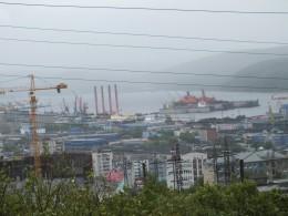 Вид на Мурманск.