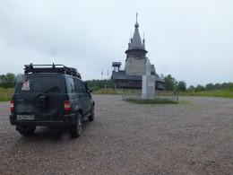 Никольская церковь. Поставлена в 2003г. в память строителей Беломорканала