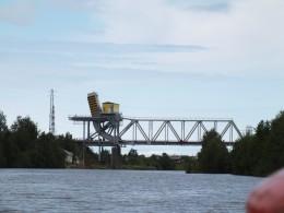 Идём под Шижненский мост