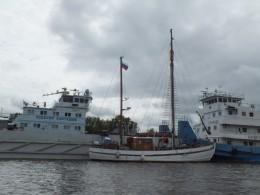Причалы Беломорского порта