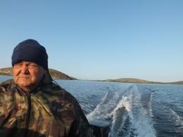 В пять утра вышли на Соловки