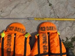 Номера на спасжилетах - требование ГИМС при оформлении выхода в море.