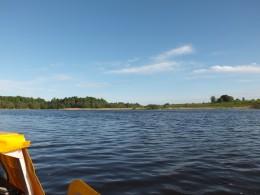 Вышли в Покровское озеро