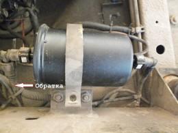 Перед монтажом в фильтр залил «Wynn's», заглушил обратку и завел двигатель