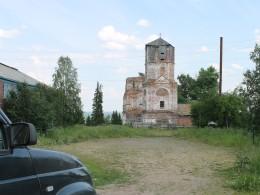 Красногорский Богородицкий монастырь. Здесь захоронен Князь В.В. Голицин
