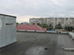 Виды в крыши гостиницы