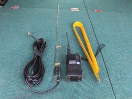 Радиостанция Гранит-Р44 и антенна речного диапазона на 336 мгц