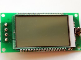 Шикарный экран ваттметра