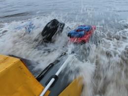 2016 г. Белое море. Неудачный подход к острову Мудьюгский.