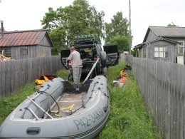 Сборка лодки