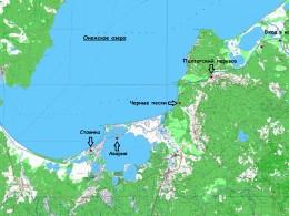 Стоянка на карте