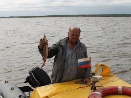 Рыбаки угостили такой рыбой