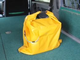 Конечно мешок из жёлтого ПВХ