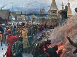 1897 г. Сожжение Аввакума. Фото: Wikipedia