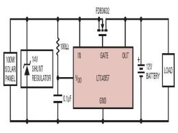 Типовая схема включения LTC4357