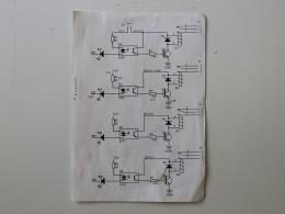 Схема развязки на оптронах