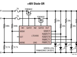Типовая схема включения LTC4355