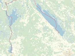 Подробная карта водной части маршрута