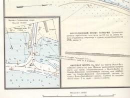 Подходной канал на карте СДШС