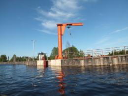 Заградворота Кишемского озера