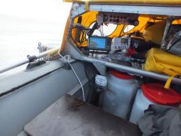 Standard Horizon GX-3000E в лодке