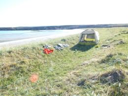 Палатка в Корабельной
