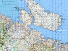 мыс Шарапов на карте