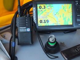 Радиостанция речного диапазона Гранит Р-44 300-336 мгц.