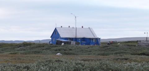 Здание метеостанции Цыпнаволок