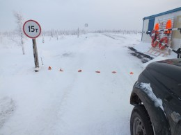 КПП на Надымский зимник