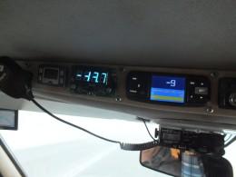 Самая низкая температура в поездке -43,7