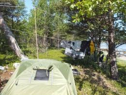 Собираем лагерь