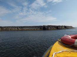 Три арки для прохода на лодках