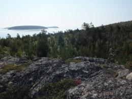 Острова Сетной и Верхний