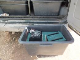 Автохолодильник готов