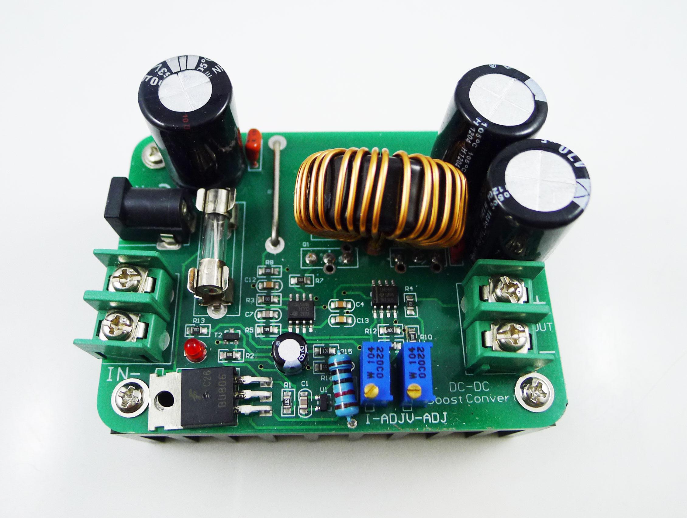 Повышающий модуль dc-dc своими руками