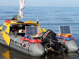 Солнечные батареи. 2 ампера зарядки 12 вольтового АКБ при хорошем солнце