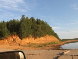 Правый берег р. Пеза