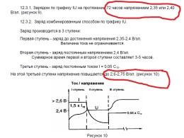 Выдержка из инструкции на АКБ. 72 часа при 14,4 в, либо 16,5 с контролем тока.