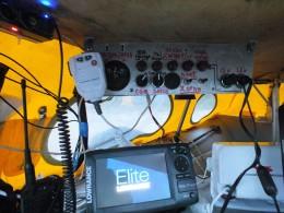 На корабле токи небольшие и зарядку в 3-5 ампера хорошо видно