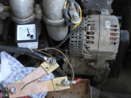 Датчик температуры на обмотке статора. Ток генератора 88А, температура 105°С