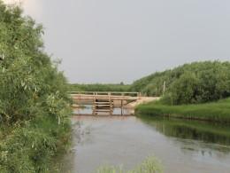 Мост через Кулойский канал.