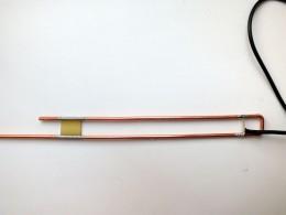 Подключение кабеля питания антенны