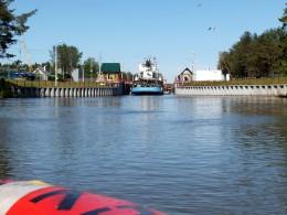 Северодвинский канал Шлюз №3