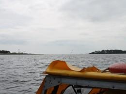 Там уже Онежское озеро