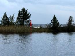 Вид на канал и Онежское озеро