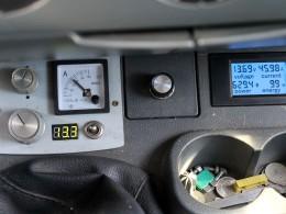 Напряжение13.7v, ток 46А, отдано 99 вт.ч